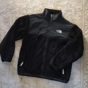 North Face youth/juniors black fleece size L